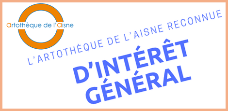 L'Artothèque de l'Aisne reconnue d'intérêt général