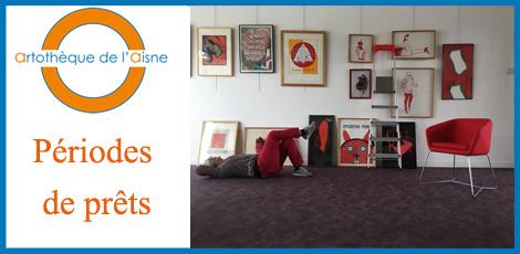 Artothèque de l'Aisne – Période de prêt du 23 janvier au 02 février 2019