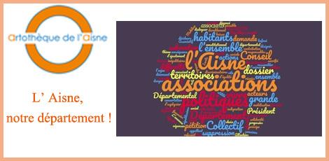 Artothèque de l'Aisne – Collectif associatif de l'Aisne pétition L'AISNE, NOTRE DÉPARTEMENT !